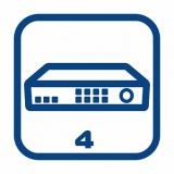 Видеорегистраторы 4-канальные