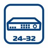 Видеорегистраторы 24/32-канальные
