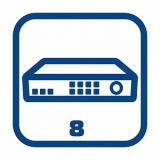 Видеорегистраторы 8-канальные
