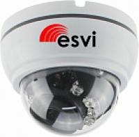EVC-3A20-A-IR2 купольная IP видеокамера, 2.0Мп, f=3.6мм, аудио вход