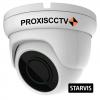 PX-AHD-DB-H50ESL купольная уличная 3 в 1 видеокамера, 5.0Мп*20к/с, f=2.8мм