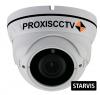 PX-IP3-DNT-P/A купольная уличная IP видеокамера, 3.0 Мп, f=2.8-12мм, POE, аудио вход