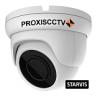PX-AHD-DB-H50FSL купольная уличная 3 в 1 видеокамера, 5.0Мп*20к/с, f=2.8мм